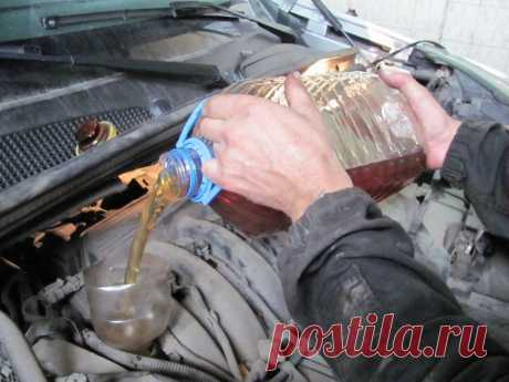 Имеет ли смысл при замене масла промывка двигателя?