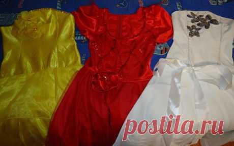 Платье для принцесс Пошив