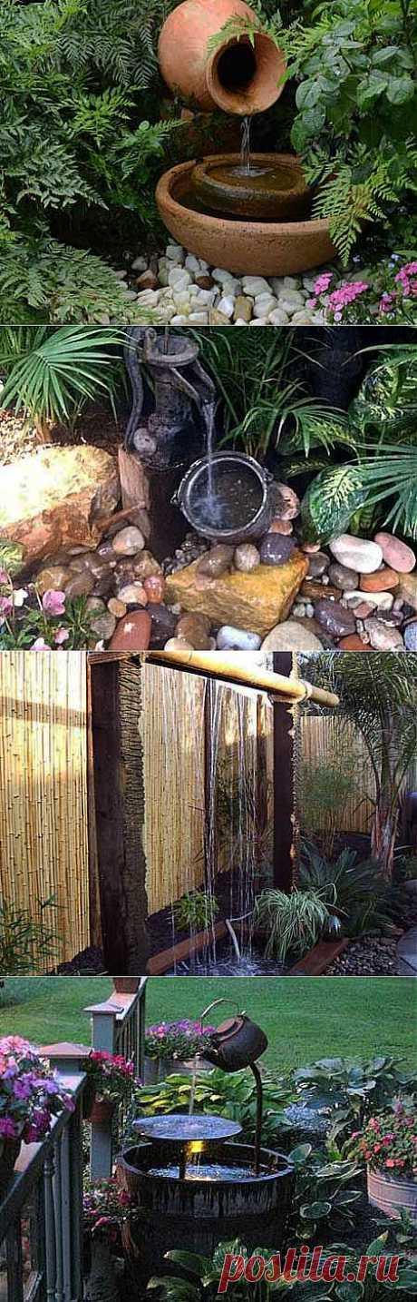 Секреты красивого сада: маленький водоем в саду | ВСЁ ДЛЯ ДОМА