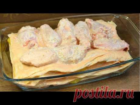 Вот это я придумала! О других способах приготовления курицы с картофелем и слышать не хочу!