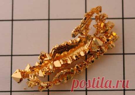 Индийские ученые синтезировали микрокристаллическое золото | Наука и технологии