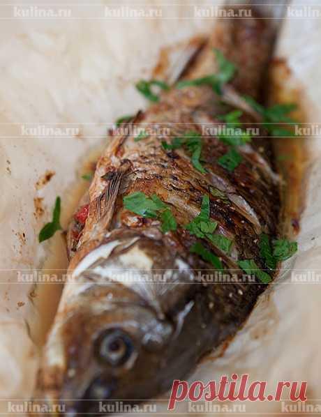 Карп, фаршированный овощами и изюмом – рецепт приготовления с фото от Kulina.Ru