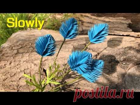 ABC TV | How To Make Filler Paper Flowers #25 (Slowly) - Craft Tutorial