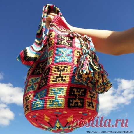 Летние цветные сумочки крючком. | Анастасия Леонова | Яндекс Дзен