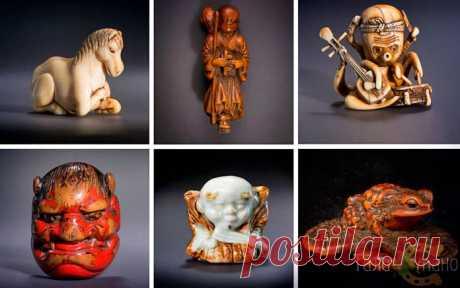 Нэцкэ — японские миниатюрные скульптуры-амулеты