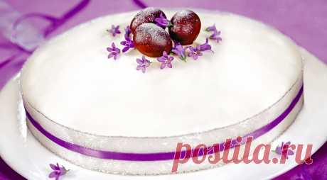 Симнель, английский пасхальный кекс, пошаговый рецепт с фото
