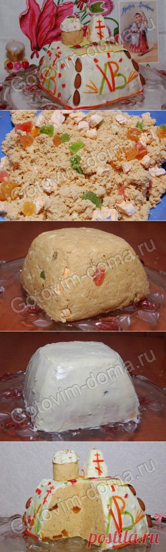 """Рецепты куличей. Торт """"Пасхальный"""" - Антрекот - большая кулинарная книга"""