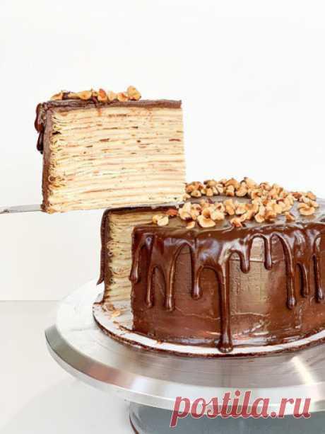 Блинный торт рецепт | Рецепты Джейми Оливера Блинный торт рецепт