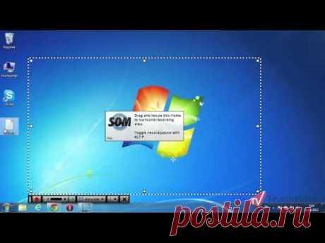 Как легко записать видео с экрана