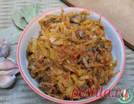 Капустная солянка с грибами – кулинарный рецепт