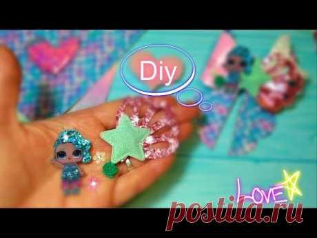 2 bows 🎀Шикарные 🎀 Лол Русалочка,и заколочка 🎀Laço🎀 DIY for the princess 🎀
