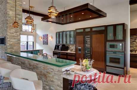 Stone Kitchen Interior Decoration Ideas - Small Design Ideas