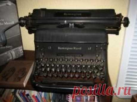 Сегодня 23 июня в 1868 году Запатентована пишущая машинка