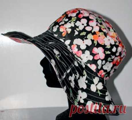 Как сшить шляпу с полями   В каждом женском гардеробе найдется хотя бы одна шляпка. Что ни говори, а этот головной убор всегда был в моде. Он придает неповторимый шарм образу женщины, добавляют нотку элегантности и загадочно…