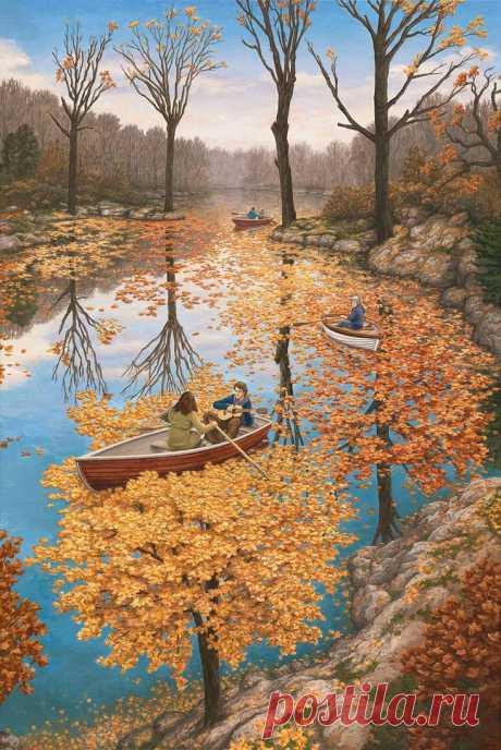 Необычные картины Роберта Гонсалвеса (Канада)