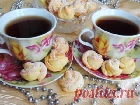 Творожное печенье «Чайная роза» - пошаговый рецепт с фото - как приготовить - ингредиенты, состав, время приготовления