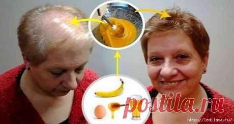 La mejor receta de la alopecia y para el crecimiento de los cabello