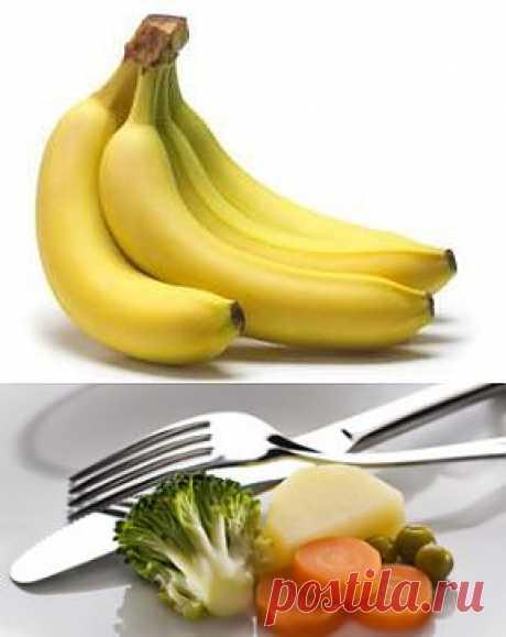 банановая диета для похудения Эффективное похудение