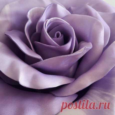роза из изолона, тонировка колером PALIZH