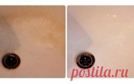 Прекрасная идея, как быстро и легко отмыть сантехнику от водного камня - Сайт для женщин Наверняка многие из вас знают, что самым грязным местом в квартире является именно ванная комната. Вся техника и отделочные материалы находятся под постоянным воздействием влажности.  Из-за этого ванная или душевая кабина могут быть поражены плесенью, а плитка или другие принадлежности могут покрываться налетом, ржавчиной или накипью. Наблюдать за такой картиной крайне неприятно, поэтому вы …
