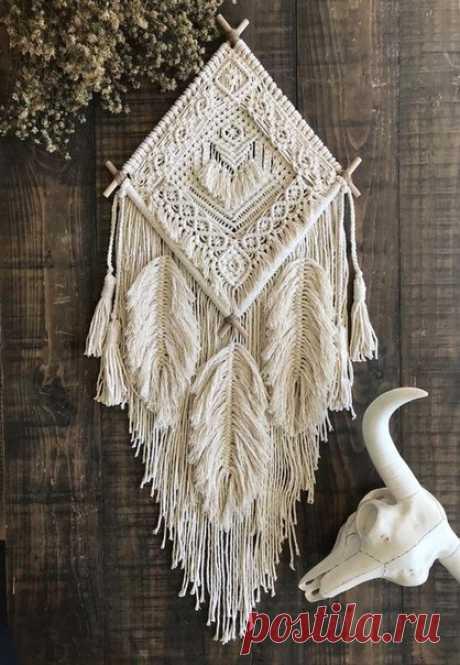 Макраме-узелковое плетение