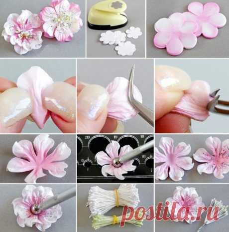 Лучшие мастер-классы по созданию чудесных цветов из фоамирана