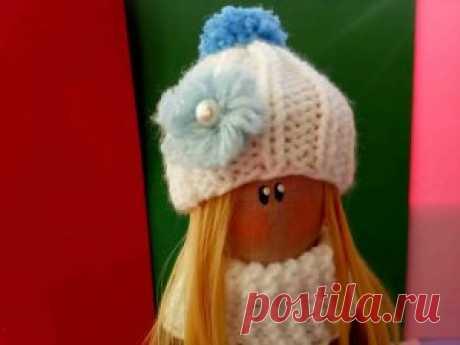 Текстильная авторская кукла Василиса