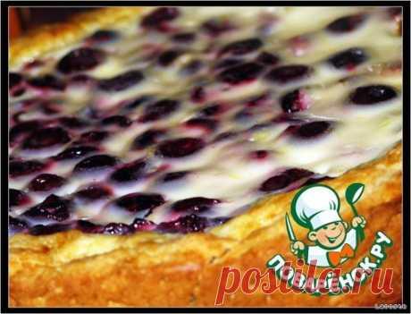 Пирог вишневый Кулинарный рецепт