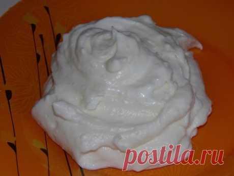 Как приготовить крем из сливок для торта - YouTube