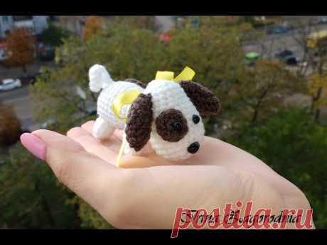 Собака Рекс-вяжем собачку крючком.Собачка амигуруми-год собаки - YouTube