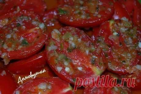 Супер закуска — быстрые помидоры по-корейски. Порадует гостей!