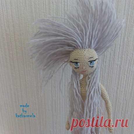 Каркасная кукла крючком Сонечка, часть 1: тело - Katkarmela: игрушки амигуруми крючком