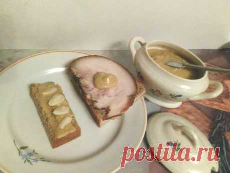Горчица на рассоле — Кулинарная книга - рецепты с фото