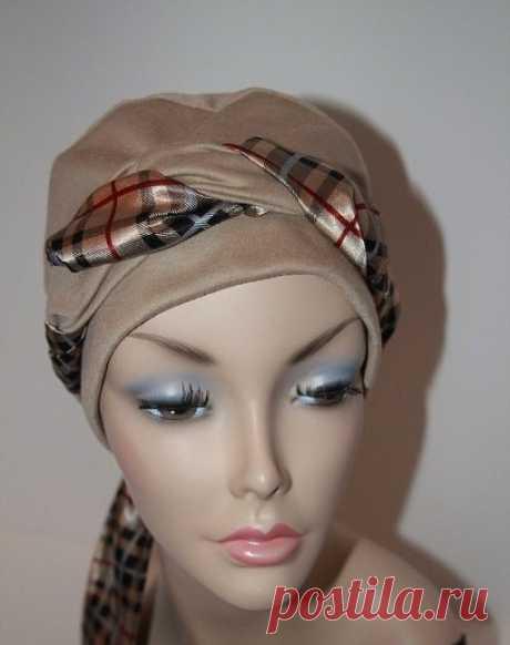 Оригинальный головной убор (Шитье и крой) — Журнал Вдохновение Рукодельницы