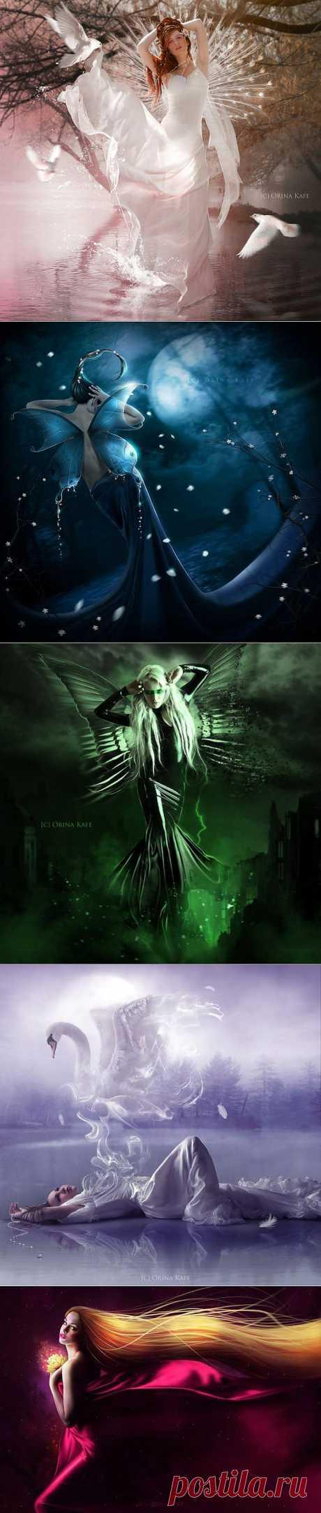Fantasy art by Orina Kafe » Фэнтези, фантастика, игры.