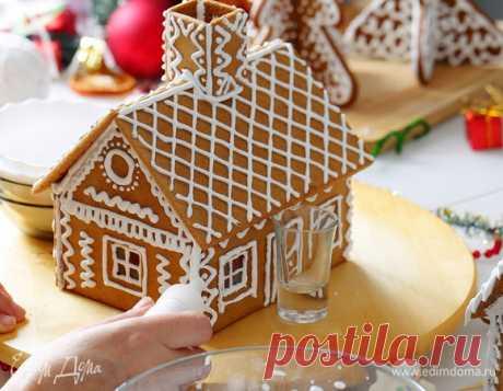 Как самостоятельно сделать красивый и праздничный пряничный домик
