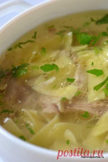 Суп-лапша • домашний рецепт. С фото! Добавить рецепт в избранное!Этот суп я называю суп-лапша, потому что он готовится с готовой пастой, купленной в магазине. То, что называется Лапшой с большой буквы — это суп с пастой, …