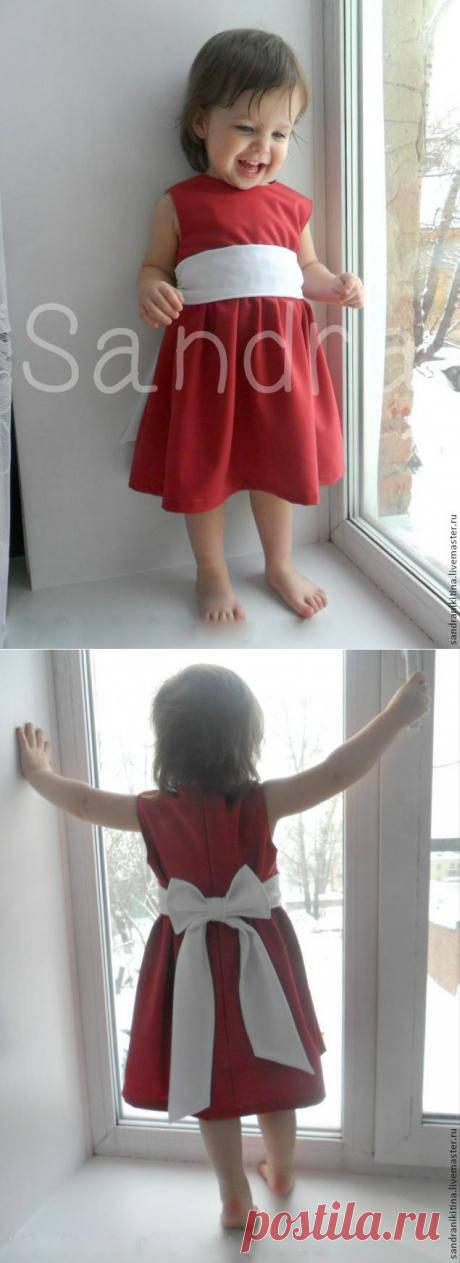 Шьем платье с двойной кокеткой и молнией для девочки – Ярмарка Мастеров