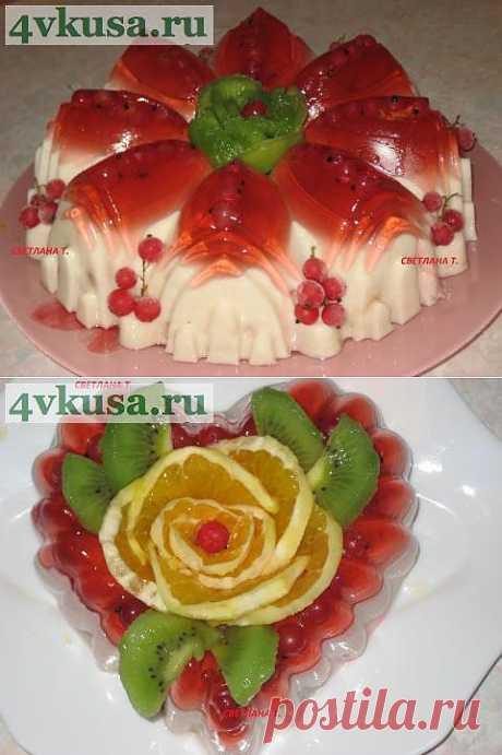 Фруктово-творожный десерт | 4vkusa.ru