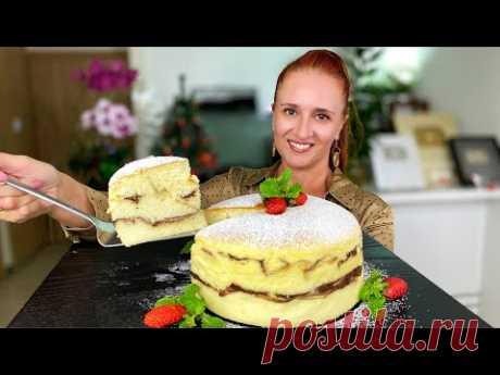 """Воздушная ТВОРОЖНАЯ ЗАПЕКАНКА """"Березка"""" из самых простых продуктов Люда Изи Кук выпечка cheesecake"""