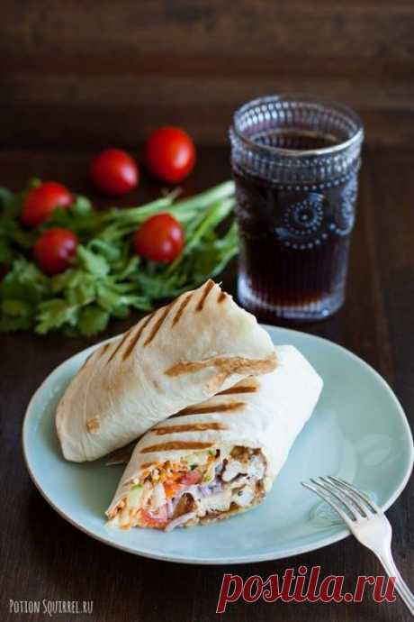 Лучший рецепт домашней шаурмы | Великолепная еда и места | Яндекс Дзен