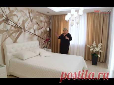Интерьер двухкомнатной квартиры на пр. Есенина - 76 кв.м. Обзор дизайн-проекта квартиры.