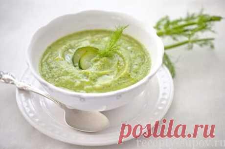 La sopa-puré de los calabacines y las patatas: poshagovyy la receta de la foto