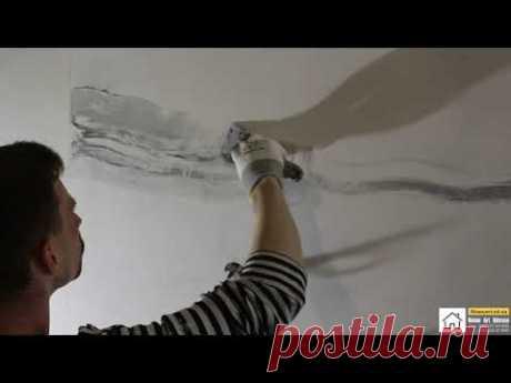 """Венецианская штукатурка """"под расшивку"""", имитация мраморной плитки от Home_Art_Odessa"""