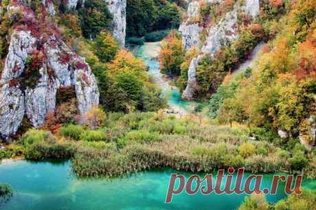 Великолепные Плитвицкие озера, Хорватия — Путешествия
