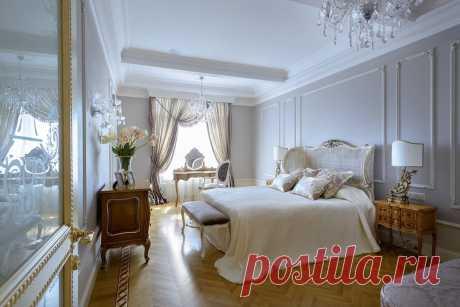 Современная спальня в интерьере. Компания Бабич www.remontr99.ru