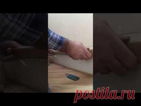Реставрация на монтаже нержавеющих перил со стеклом