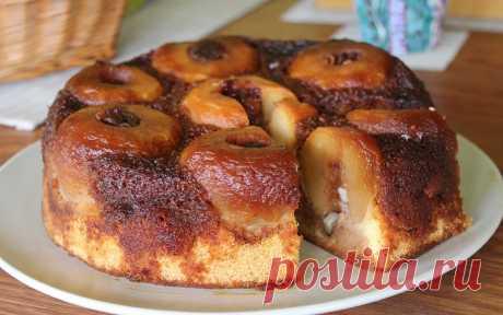 Очень популярный и вкусный яблочный пирог - Наверное, трудно удивить кого-то яблочным пирогом, но мы всё-таки рискнем! Яблочные десерты...