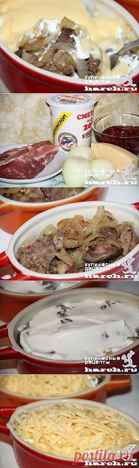 Жаркое из свинины с куриной печенью по-княжески | Харч.ру - рецепты для любителей вкусно поесть