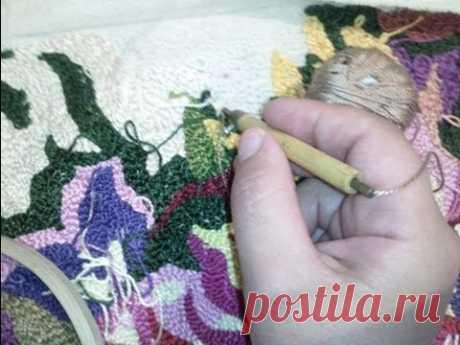 Схемы ковровой вышивки: техника для начинающих, фото и видео инструкции пошагово